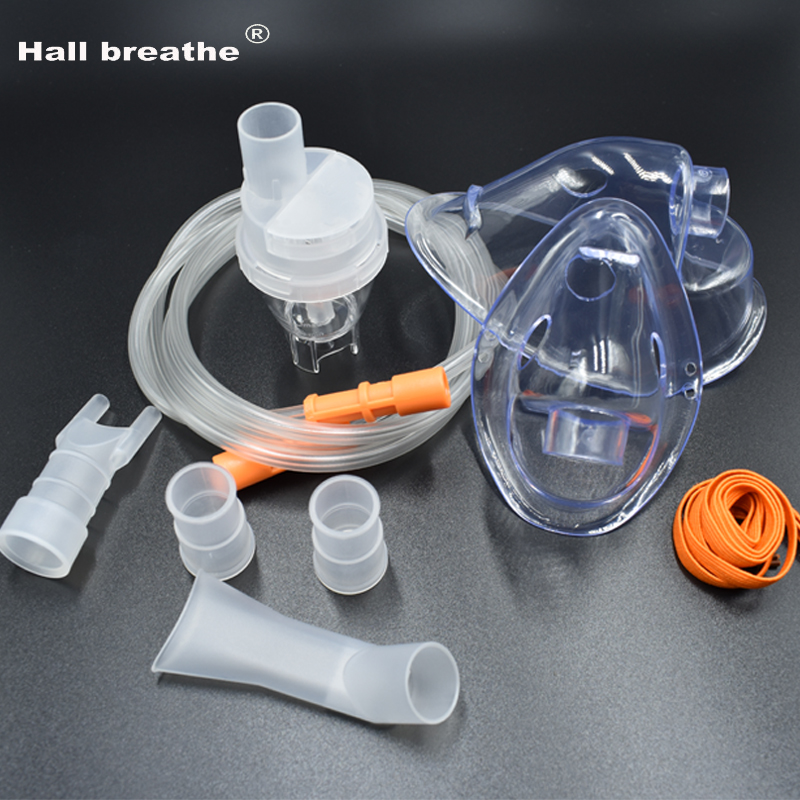 HALL BREATHE Adult Child Mask Inhaler Set Accessories Comp Mist Household Compressor Nebulizer Cup Mouthpieces until i breathe until i breathe геноцид