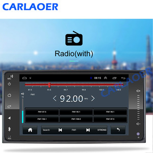 Image 2 - 2 din android 8.1 Universal Car Multimedia Player Car Radio Player Stereo for Toyota VIOS CROWN CAMRY HIACE PREVIA COROLLA RAV4