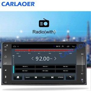 Image 2 - 2 din android 8.1 uniwersalny samochodowy odtwarzacz multimedialny Radio samochodowe Stereo dla Toyota VIOS korona CAMRY HIACE PREVIA COROLLA RAV4
