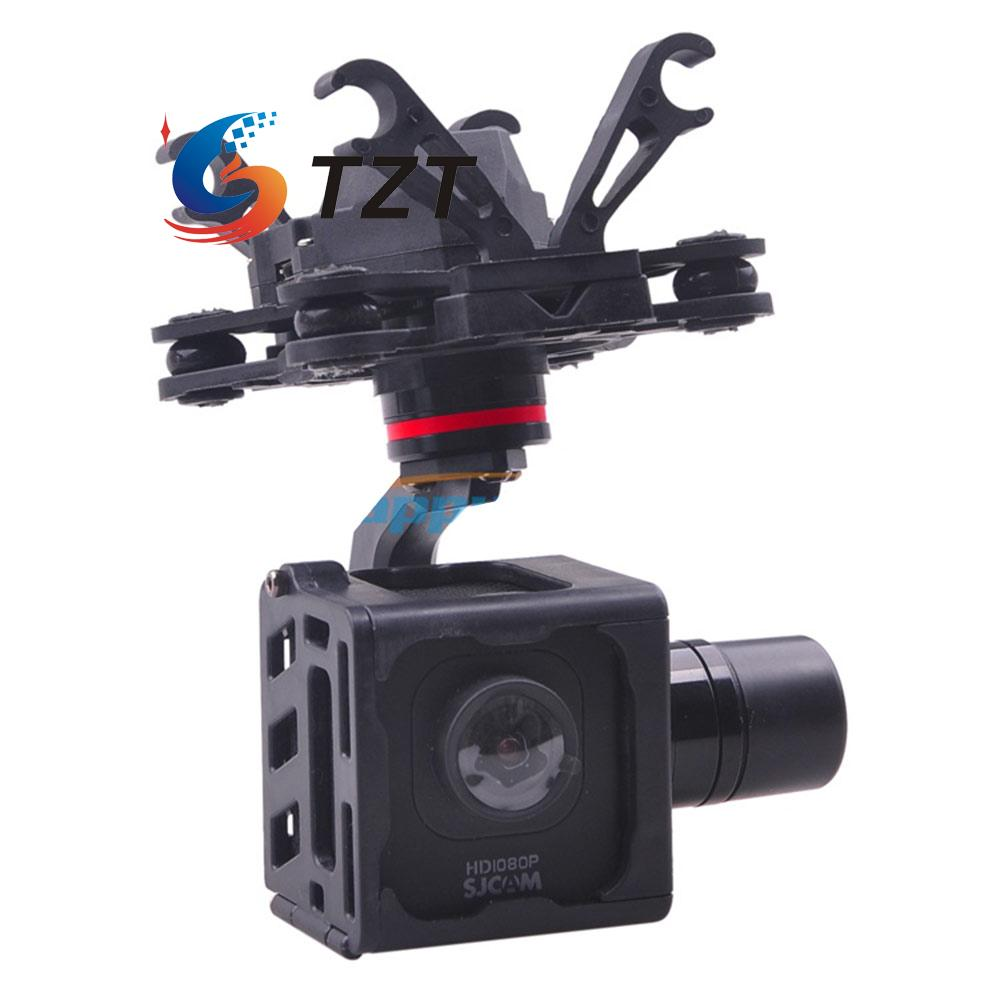 FPV 3-Axis Brushless Gimbal Camera Stablizer PTZ for SJCAM M10 Camera HMG SJM10