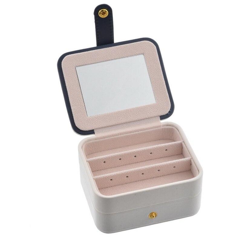 Laamei Cosmetic Bags Women Makeup Bag Travel Jewelry Box Make Up Pouch Jewel Casket Necessaries Bag Organizer Storage Box