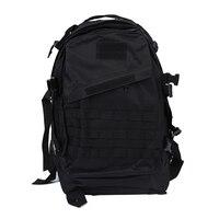 Militärische Taktische Rucksack rucksack camping reise Wandern tasche 40L Schwarz