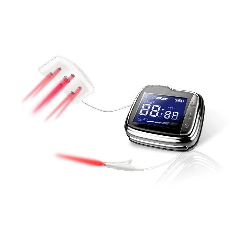 Новый 18 лазерный диод запястье низкий уровень лазерная терапия Нили для высокого кровяного давления устройство без боли для домашнего испо...