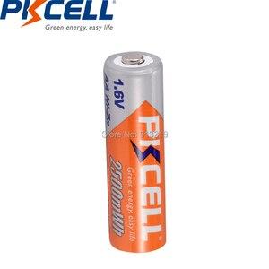 Image 5 - 16PCS x 4 Pacchetto PKCELL 1.6v AA NI ZN batteria Ricaricabile batterie 2500mWh 2A aa batteria ricaricabile Per La Macchina Fotografica