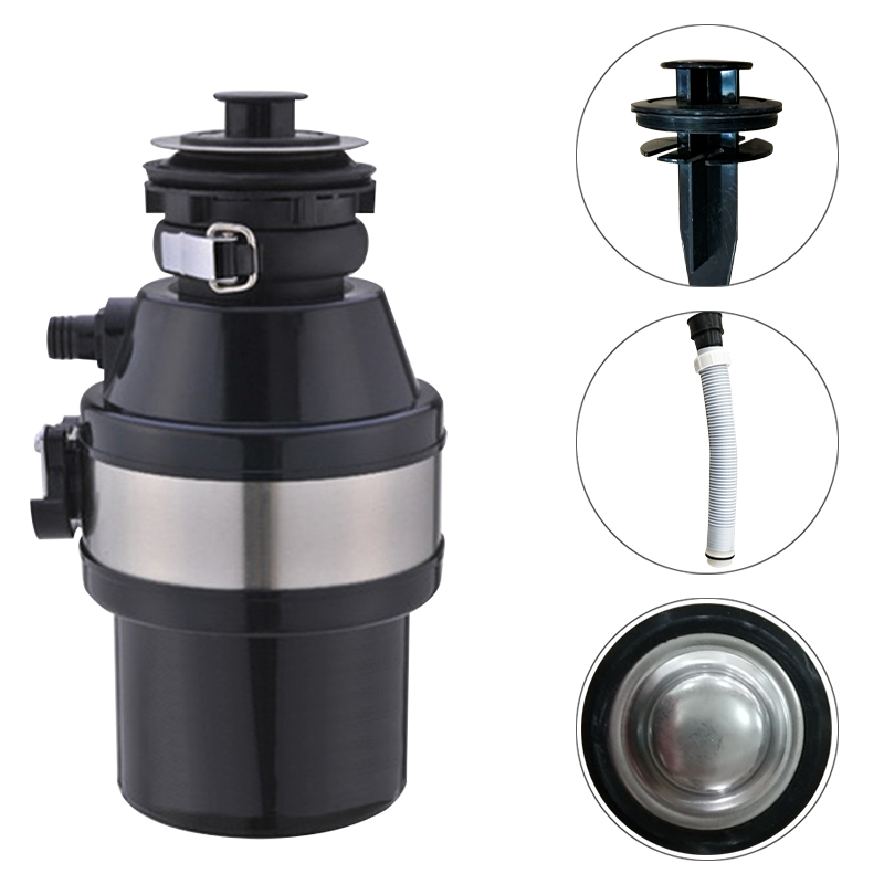 Air Switch Food Garbage Disposal Sink Food Waste Can Crusher Food Waste Disposer Food Garbage Disposal Garbage Crusher EU PLUG(China)