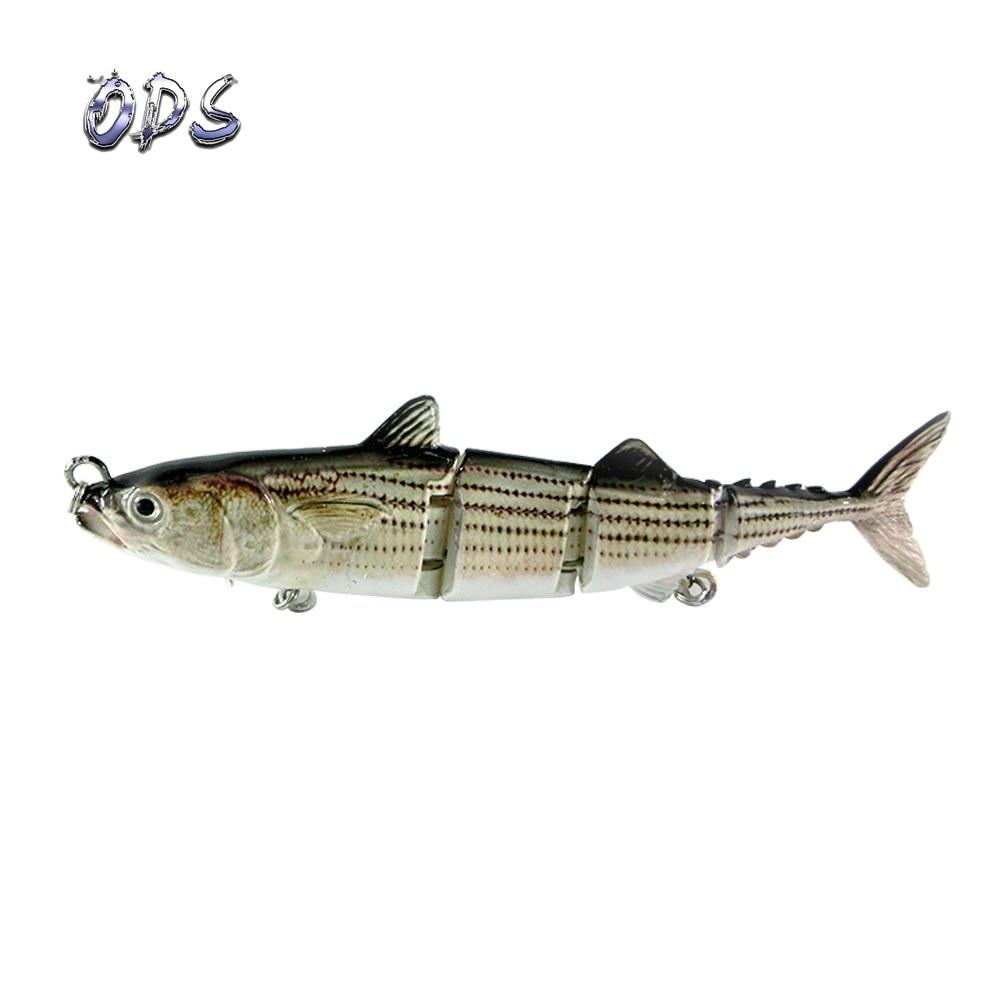 ODS 4 секции, плавающая приманка для тунца, 15 см, 31 г, бесплатный образец, рыболовные приманки, жесткие шарнирные приманки для ловли окуня в соленой и пресной воде - Цвет: 363