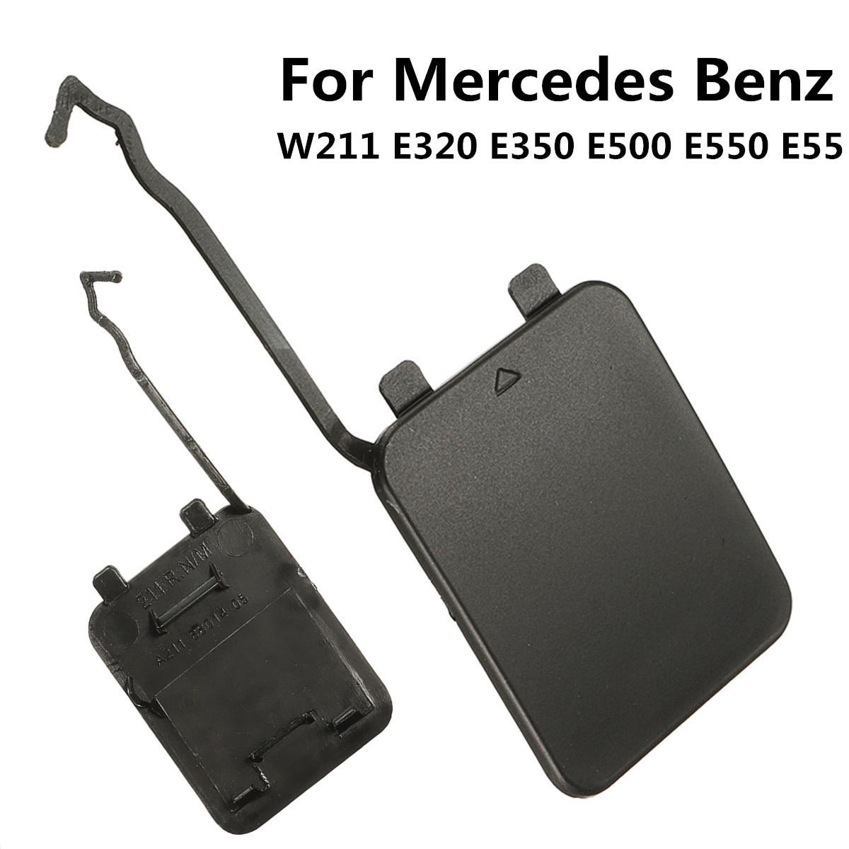 For Mercedes-Benz W211 E55 E550 E500 E350 E320 Rear Bumper Tow Hook Cover Cap