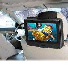 """אוניברסלי לרכב משענת ראש הר מחזיק עבור 7 כדי 11 inch מסתובב & Flip סוג נייד DVD נגן כגון 7 """", 9 """", 10"""", 11 """"נגני DVD"""