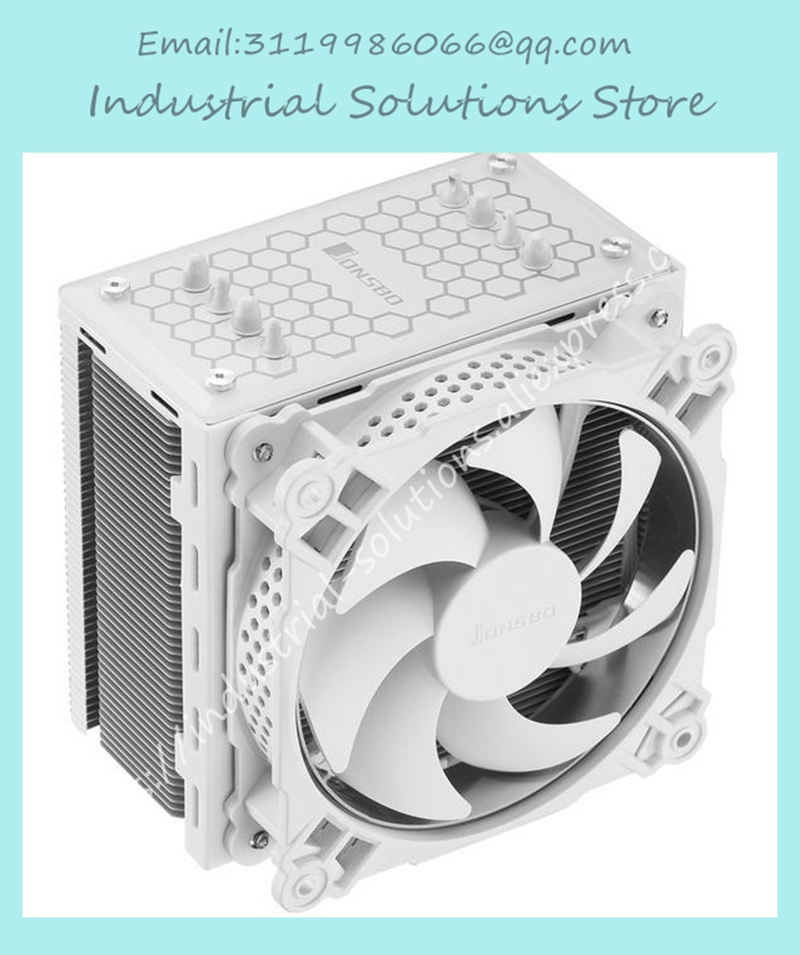 Jonsbo CR-201 4 CPU 12CM heat pipe radiator side LED fan huanghai luxury cpu radiator 775 115x cpu fan 4 heat pipe intelligent led fan