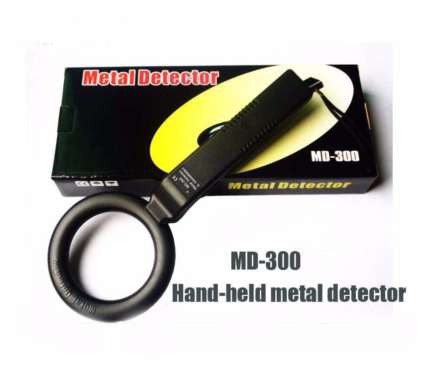 MD300 Circle Type Portable Hand-held Metal Detectors Scanners