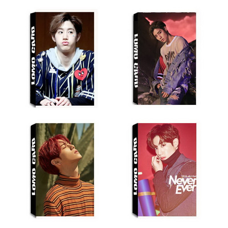 New Fashion Yanzixg Kpop Got7 Album Eyes On Yo Self Made Paper Poster Photo Card Lomo Card Hd Photocard Fans Gift Collection Cheap Sales Jewelry Findings & Components Beads & Jewelry Making
