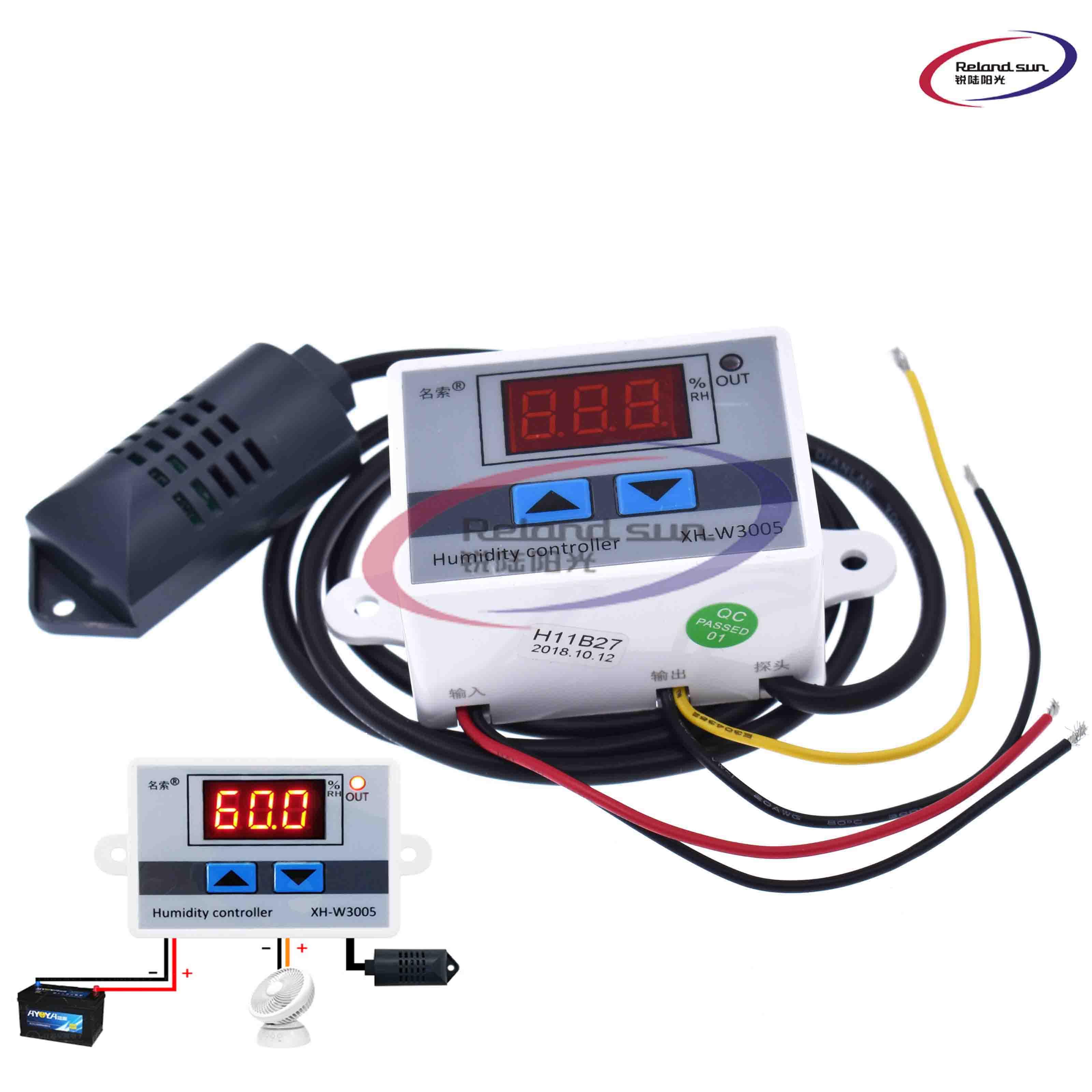 Digital Humidity Controller Humidity Control Switch Hygrometer Sensor 110V-220V