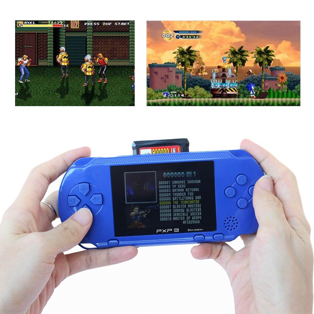 Handheld coloring games for toddlers - Pxp3 Video Game 6 Bit Handheld Game Console Portable Video Game 200 Games Retro Megadrive