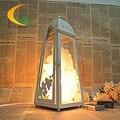 Творчески спальня ночники ночник Гималайский кристалла соли лампа регулируемая настольная лампа Книга Света