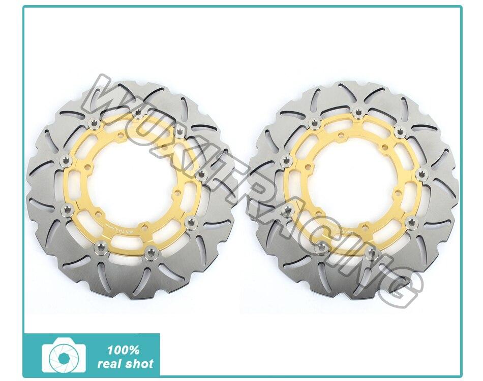 Or nouveau Front disques de frein Rotors pour BMW R 850 R R 1100 R R 1100 RT R 1100 RS d'occasion  Livré partout en France