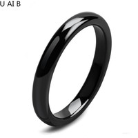 New Arrivals100 Pure Black Tungsten Rings Wide 4 Mm Classic Personality Ring For Men And Women