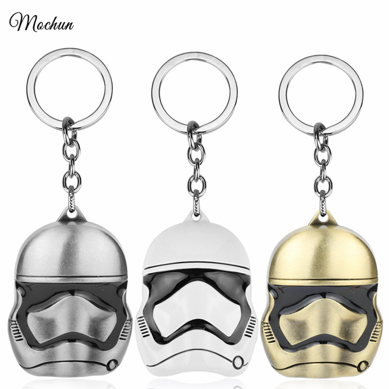 Mqchun 3 Colors Star Wars Imperial Stormtrooper Keychains Storm