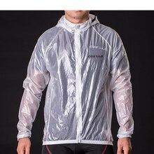 Унисекс Велоспорт велосипед Классический жакет плащ ветровка защита от ветра, от дождя