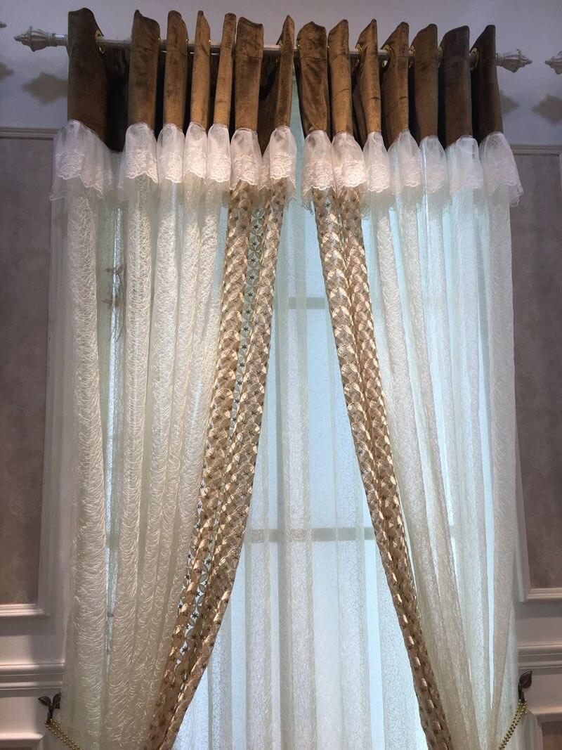 weiß voile vorhänge-kaufen billigweiß voile ... - Vorhange Wohnzimmer Weis
