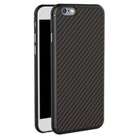 Для Apple iPhone 6 6 S Case 4.7 ''для iPhone6s Nillkin Роскошные Высокое Качество Синтетического Волокна Задняя Крышка Простой Acme, Черный
