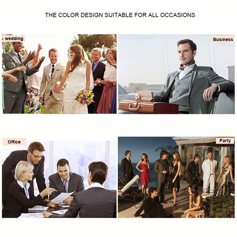 Double Breasted Mannen Suits Broek Rood Prom Suits Bruidegom Smokings Kostuum Homme 2 Stuk Slim Fit Terno Masculino Man blazer - 6