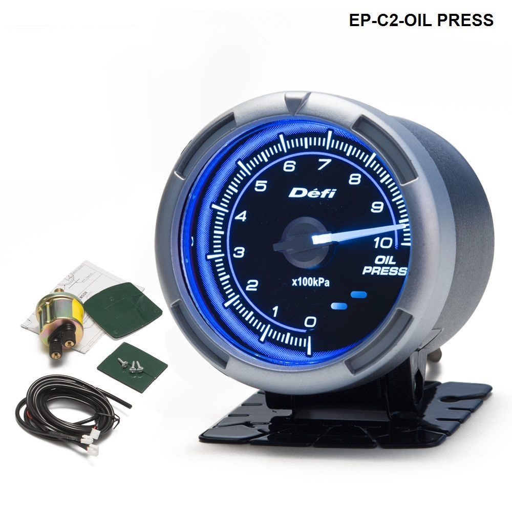 DF Link Meter ADVANCE C2 Oil Pressure Gauge Blue For BMW E30 325i 318i M3 EP-C2-OIL PRESS цены онлайн