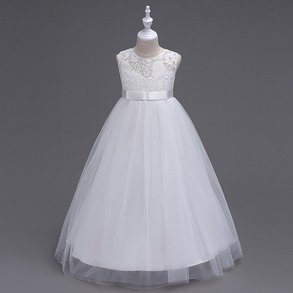 keaiyouhuo 2017 Summer Flower Girls Wedding Dress For Girls Long ...