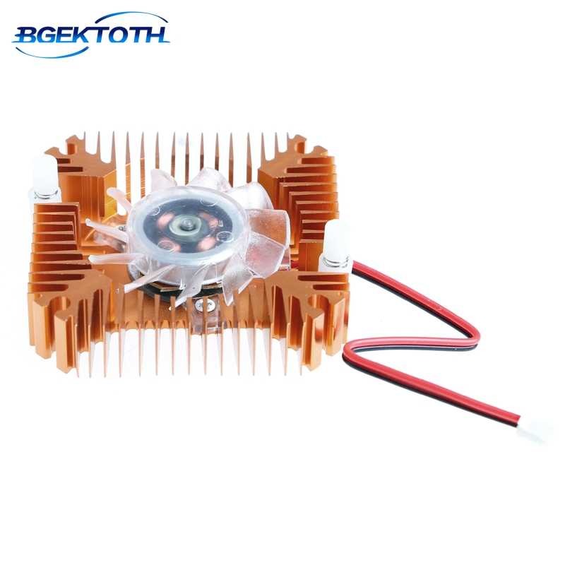 12 V desain Unik PC GPU VGA Video Card Heatsink Kipas Pendingin Pengganti MAR29