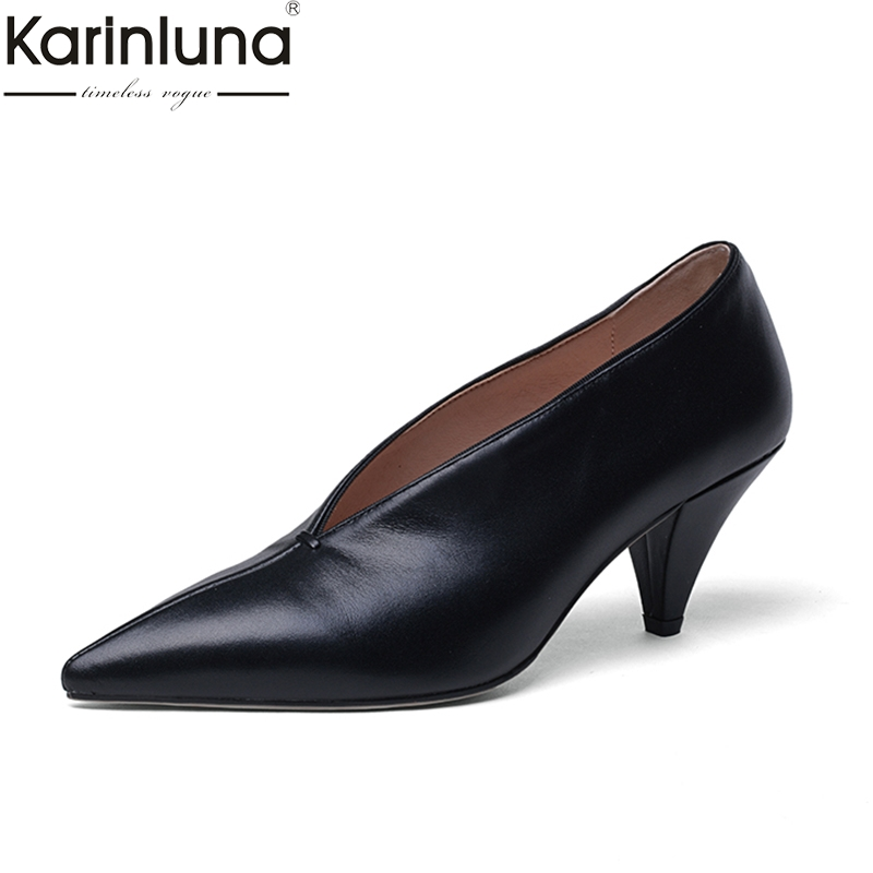 KarinLuna 2019 brand new Office Lady Ins Chic Style 2019 Brand New Elegant women s Shoes