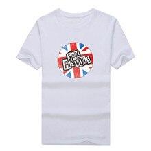 Sex Pistols T-shirt NEW S-3XL punk 100% cotton  Short Sleeve Cotton Casual Top Tee Camisetas Masculina T shirt 1206-6