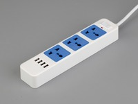 Smart Strip With USB Multi Protection Overload Protector Ceramic SPD High Conductive Copper Fire Retardant Shell