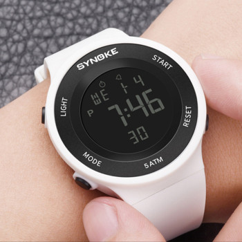 Sports Watches Women Relogio Feminino Digital Watch 50M Waterproof LED Ladies Electronic Rubber Wrist Watch For Fashion Outdoor digital watches men waterproof sports wrist watch electronic running fitness led chronograph watch outdoor for men relogio meski