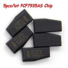 Puce de transpondeur Anti vol PCF7935AS PCF7935AA, transpondeur PCF 7935 as pcf7935, puce de programmation de clé automatique, livraison gratuite, 5 pièces/lot