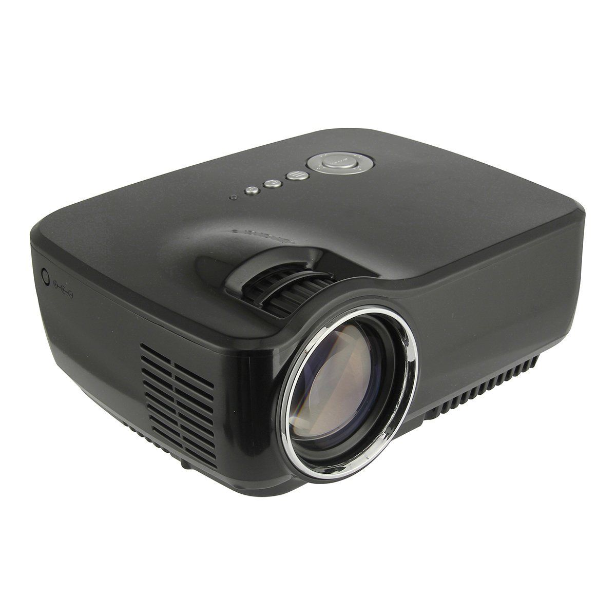 New 1800lumen hd led projector multimedia home cinema for Hd projector