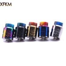 Vape Mod Vaporizer E Cigarette Adjustable Electronics Fit Airflow 510 Xfkm Rda 24mm 5-Colour