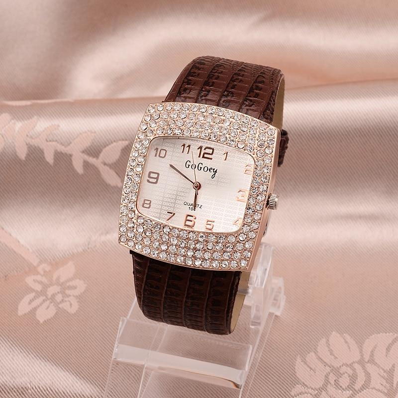 Dames Horloge Beroemd Gogoey Merk Diamant Decoratie Horloge Dames - Dameshorloges - Foto 2