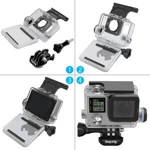 Image 4 - NEUE Sport Kamera Zubehör Charge Wasserdicht Fall Ladegerät shell Gehäuse Mit Usb kabel für Gopro Hero 4 3 + Für motorrad