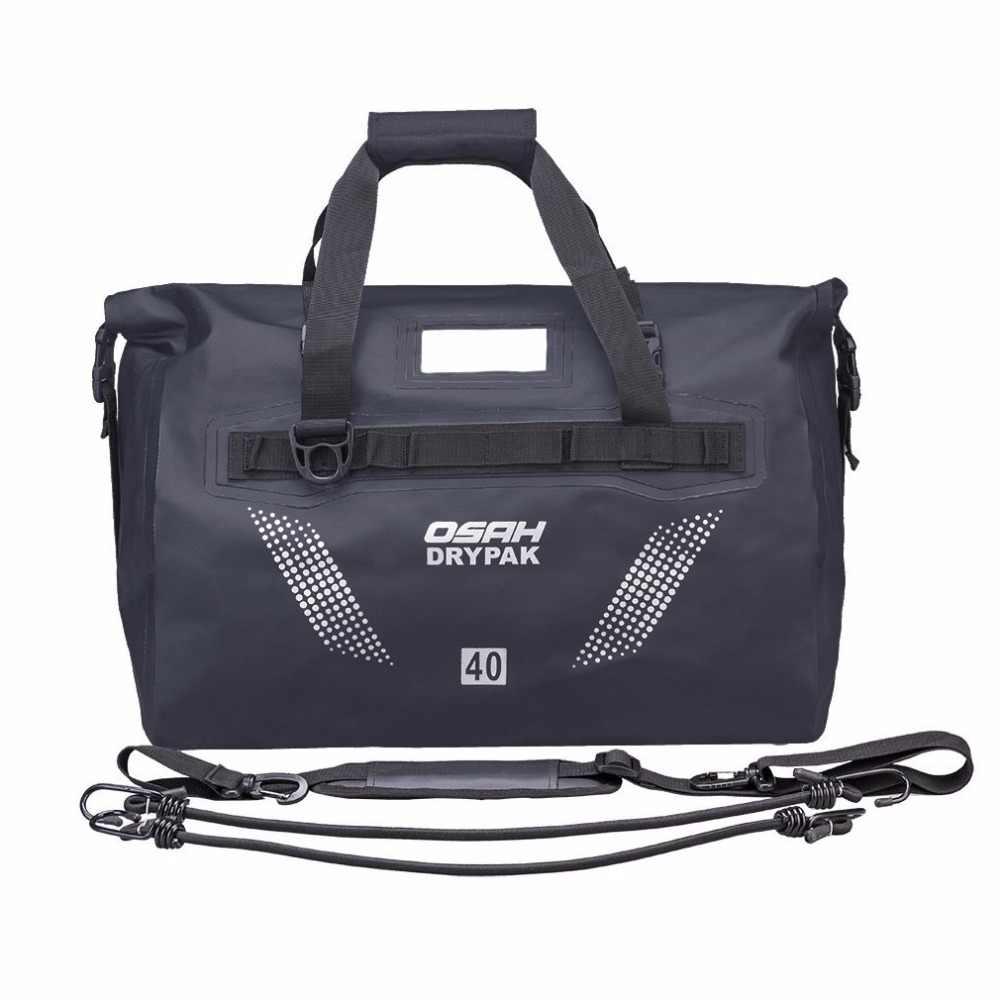 Мотоциклетные водонепроницаемые сумки на мотоцикл задние Сумки 60L дорожная сумка мотоцикл Скутер спортивный багаж заднего сиденья пакет 40L черный зеленый