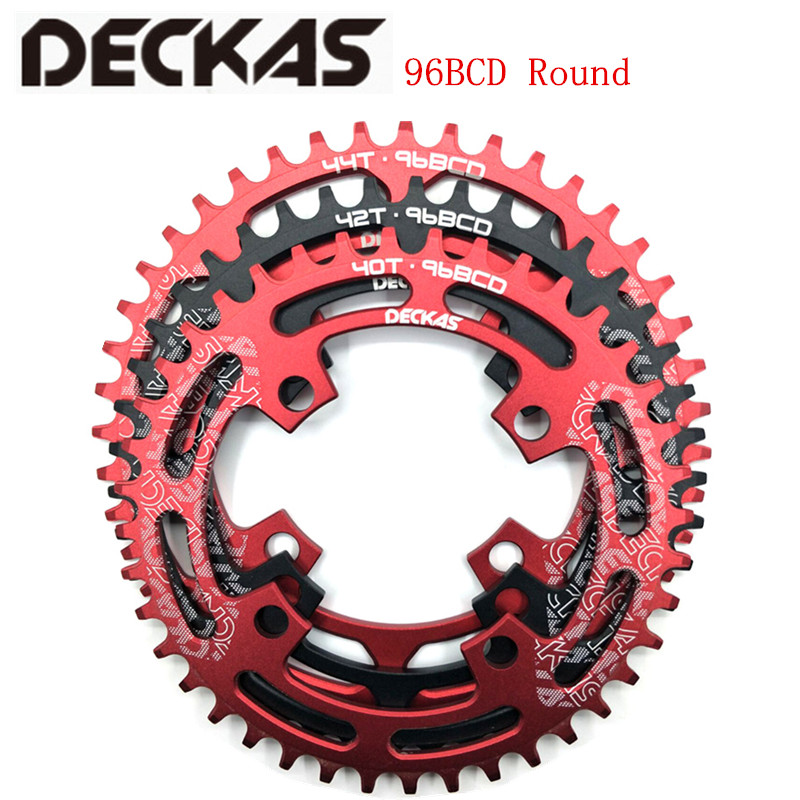 Bicycle Parts Sports & Entertainment Deckas Round Bcd 96mm 96bcd 40/42/44t Mtb Mountain Bike Bicycle Chainring For Shimano Alivio M4000 M4050 For Deore M612 Crank