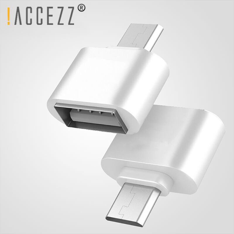 !ACCEZZ OTG Adapter Converter Micro USB Male To USB Female For Samsung Xiaomi Android Phone Tablet PC To USB Flash Drive Mouse