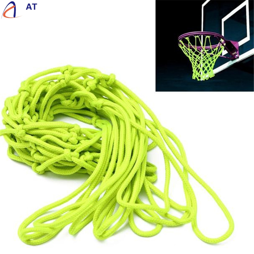FishSunDay Universal Indoor Outdoor Sport Replacement Luminous Basketball Hoop Goal Rim Net Convenient to use Drop shipping Aug9