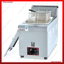 GF71 6L gasfryer with 1 tank basket