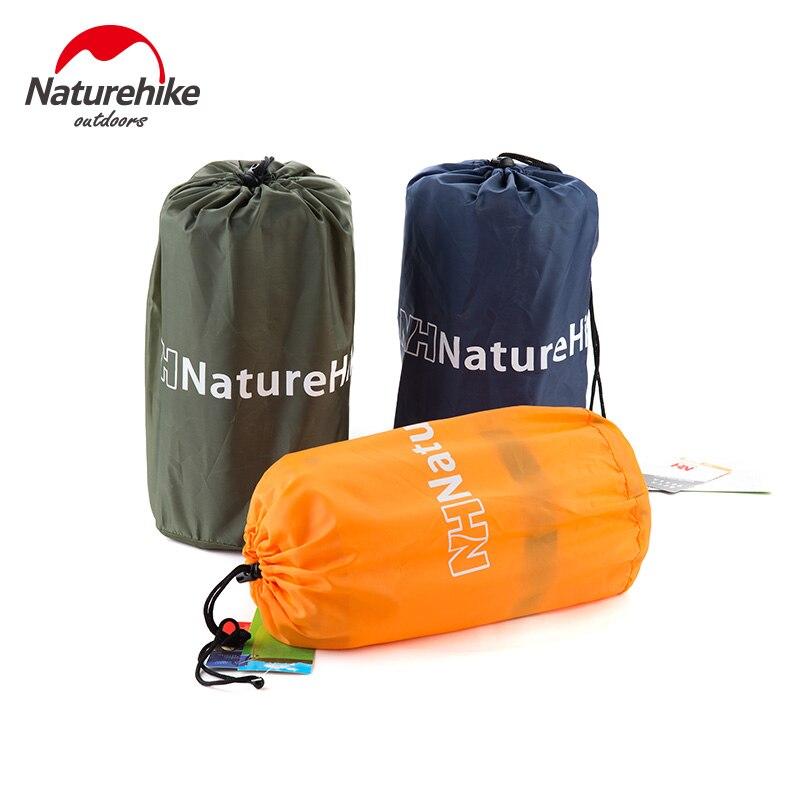 Matelas de couchage auto-gonflable naturetrek avec oreiller matelas de couchage auto-gonflant lit pliable tente de Camping tapis unique - 6