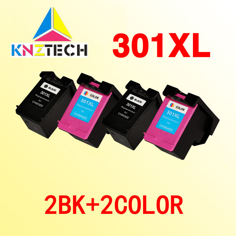 US $33 55 |Aliexpress com : Buy 4x compatible ink cartridges compatible for  hp301 replacement for hp 301 301xl Officejet 4630 4634 4639 Envy 4500 4502