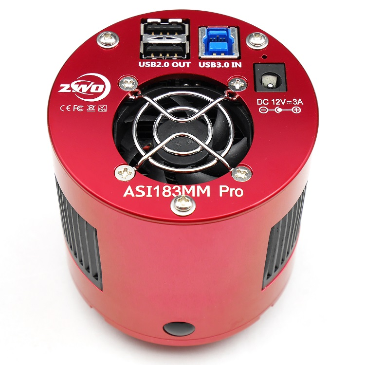 ZWO ASI183MM Pro Cooled Mono Astronomy Camera ASI Deep Sky imaging High Speed USB3 0