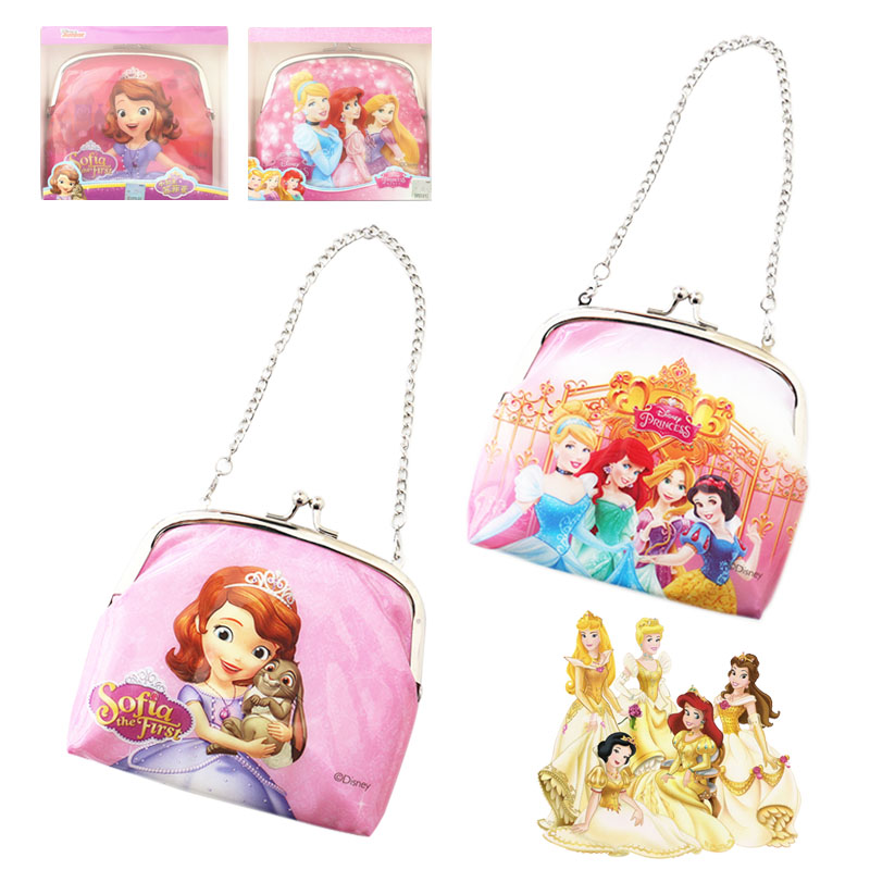 Romantic Disney Frozen Cartoon Children Elsa Anna Student Thermos Bag Box Shoulder Messenger Picnic Bag Pack Lunch Bento Storage Box Kid For Sale Luggage & Bags