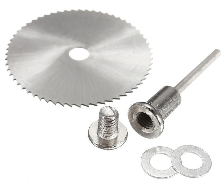 7PCS HSS Rotary Tool 22/25/32/35/44 / 50mm Hojas de sierra circular - Hojas de sierra - foto 5