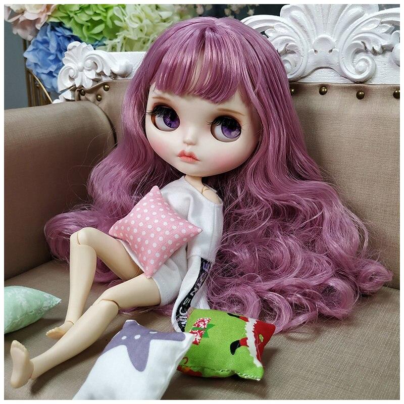 1/6 poupée Blyth BJD mignonne et belle avec maquillage, vêtements adaptés au bricolage Dessing et maquillage Brinquedos enfant chaud