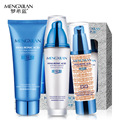 MENGXILAN  Hyaluronic Acid Cleanser BB Cream Lotion Skin Care Sets instantly ageless Moisturizing Whitening Beauty Cosmetics