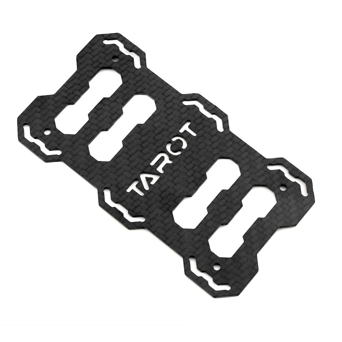 f05551 tarot 3k carbon battery mount plate tl65b03 for fy 650 CC3D Tricopter tarot 3k carbon battery mount plate tl65b03 for fy 650 folding main frame set quadcopter